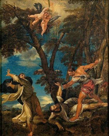 martirio de san pedro martir by titian tiziano vecelli