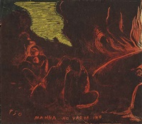 mahna no varua ino by paul gauguin