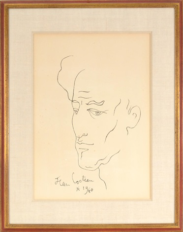 self portrait by jean cocteau