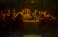 the last supper by johann franz michael rottmayr