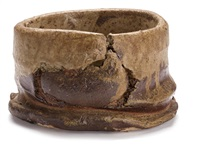 teabowl by peter voulkos