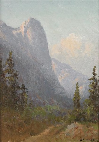 sentinel rock yosemite by william franklin jackson