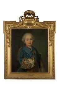 portrait du duc de berry, futur louis xvi by jean-martial fredou
