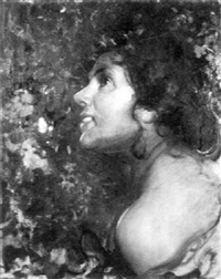 portrait of a young woman by salvatore postiglione