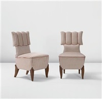 side chairs (pair) by august endell