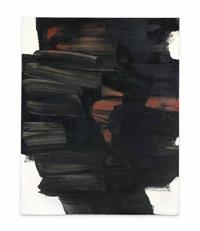 peinture 162 x 130 cm, 26 mai by pierre soulages