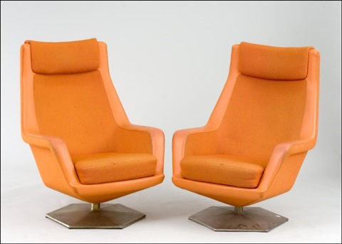nojatuolipari a pair of armchairs by voitto haapalainen