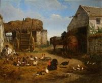 folwarczne podwórze by albert heinrich brendel