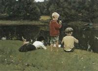 les trois gamins by euvgeni lesin