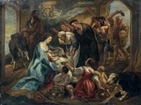 l'adoration des bergers by jacob jordaens