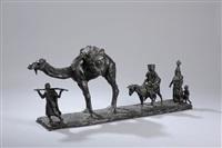 la caravane by eugène léon l' hoest