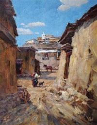 深巷 by du yongqiao