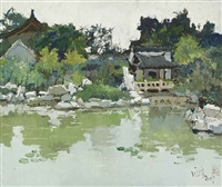 chinese style garden by pang jun