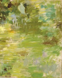 landscape (study) by theodore robinson