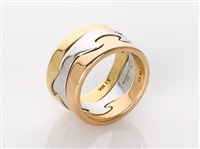 fusion ring (model 51) by nina koppel