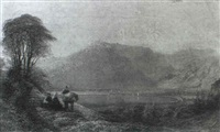coniston, north lancashire, from tennyson's seat by charles pettitt