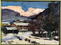 neve in montagna by metello merlo