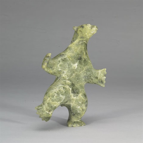 dancing bear by ohito ashoona