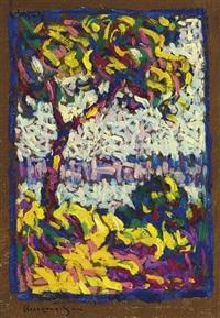 fauvist landscape by hugh henry breckenridge
