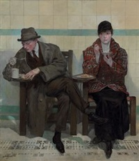 at thompson's (the automat) by oskar gross