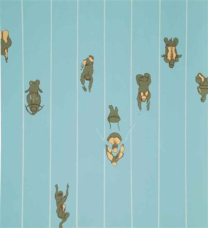 swimmers by inka essenhigh