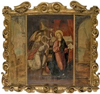 l'annonciation by roger van der weyden