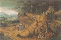 golgotha by jan van (brunswich monogrammist) amstel