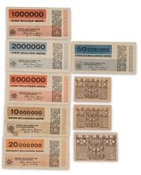 neun notgeldscheine und 1923 by herbert bayer