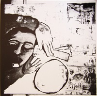 pure (collab. w/ franceso clemente) by jean-michel basquiat, francesco clemente and andy warhol