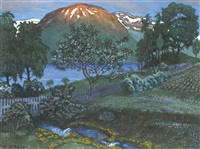 juninatt i haven (a night in june in the garden) by nikolai johannes astrup