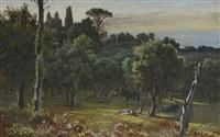 vue de la villa frascati by felix-hippolyte lanoue