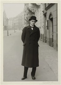 the painter anton räderscheidt, köln by august sander
