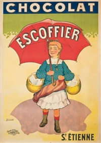 chocolat escoffier by coulet