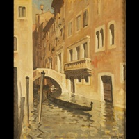 untitled- canal scene by dario mecatti