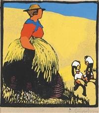 kornernte by herbert gurschner