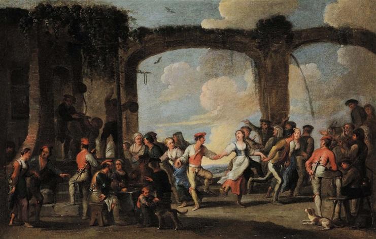 danza paesana by cornelis de wael