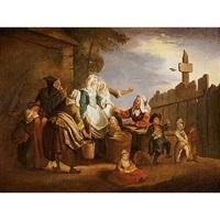 el pequeño mercado by johann eleazar schenau