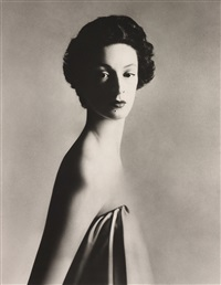 marella agnelli, new york studio, december by richard avedon