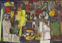 musicians by george bahgory