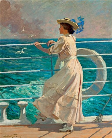 on the deck by abbott fuller graves