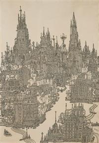 sem título (cidade imaginária) by francisco pedro relógio