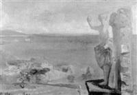 monumento y mar by anhelo hernandez