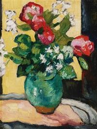 bouquet des camellias by louis valtat