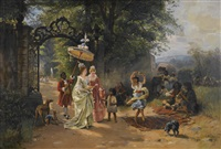 the morning promenade by karl böker