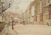 south kensington, london by yoshio markino