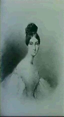 portrait de la marquise dharcourt nee ste aulaire by alexandre m de valentin