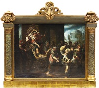 mytologiskt motiv by frans francken the elder
