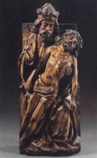 the holy trinity by flemish school-brabant (15)