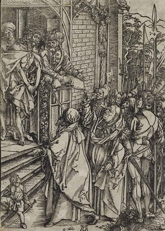 ecce homo from the large passion by albrecht dürer