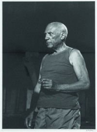 pablo picasso by andré villers